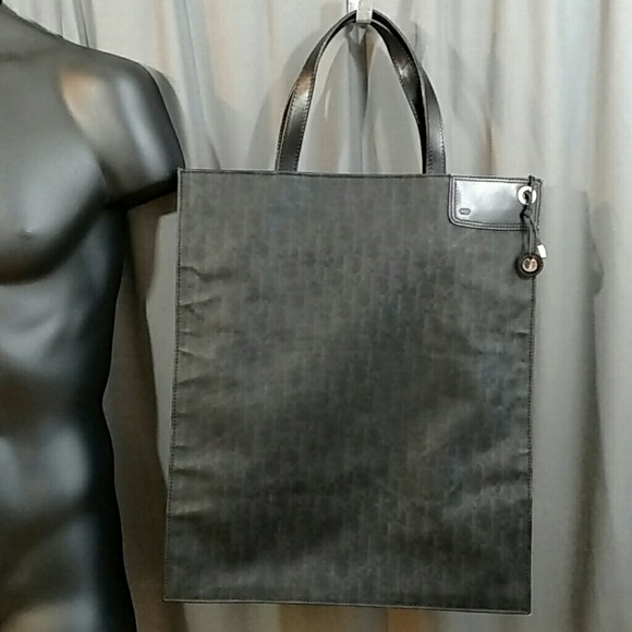 Dior Other - Dior Homme Manogram Canvas Coated Tote bag